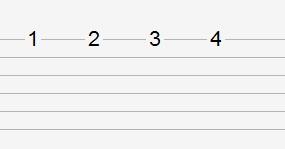 简单六线谱