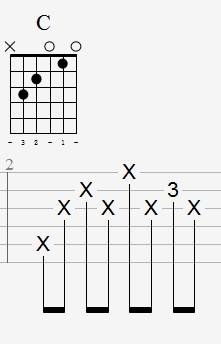 带和弦图六线谱2